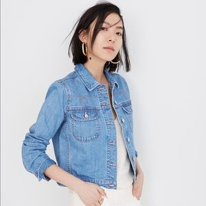 NWT Madewell The Crop Jean Jacket: Western Edition